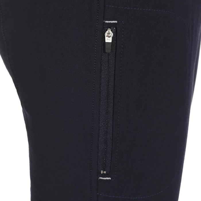Pantalon équitation femme BR500 basanes marine - 172504