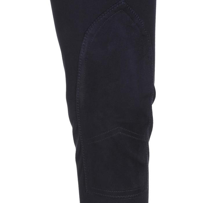 Pantalon équitation femme BR500 basanes marine - 172505