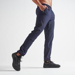 Fitness broek FPA 500 voor heren, blauw