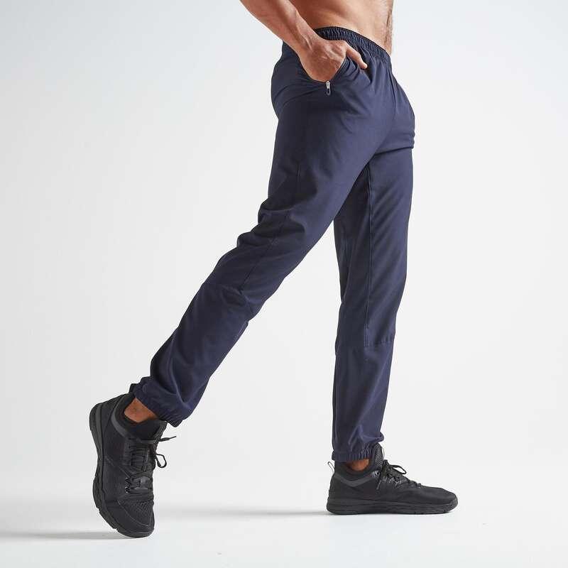 FITNESS CARDIO PANOPLIE CONFIRME HOMME Fitness - Pantaloni uomo cardio 500 blu DOMYOS - Abbigliamento palestra