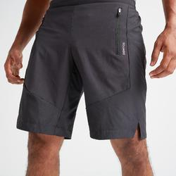 Pantalón corto chándal Cardio Fitness Domyos FST 500 hombre negro