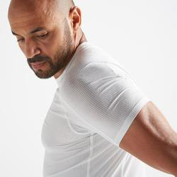 T-Shirt Fitness Cardio FTS520 Herren weiß