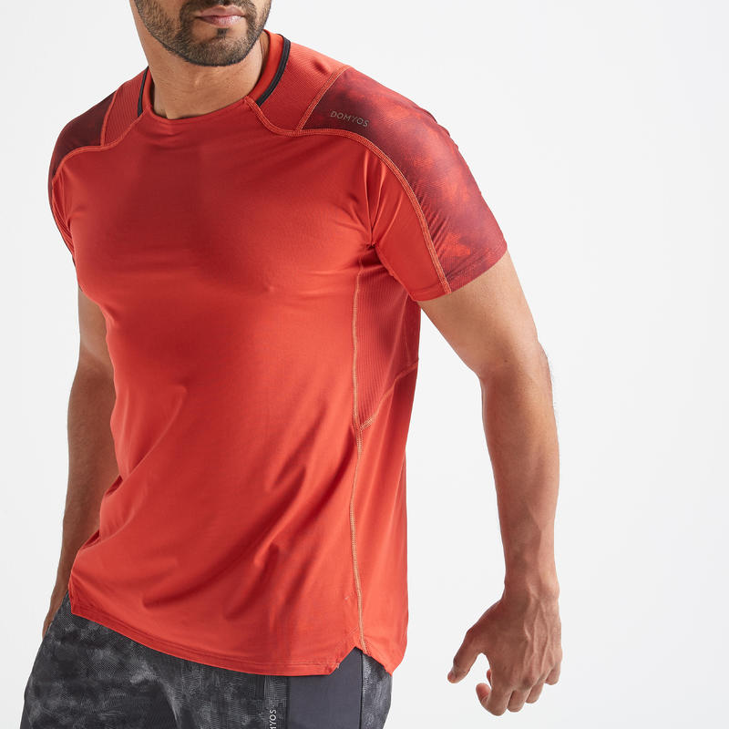 FTS 500 Fitness Cardio Training T-Shirt - Red
