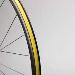 Hinterrad 700 Rennrad Scheibe Doppelwand (Tubeless möglich)