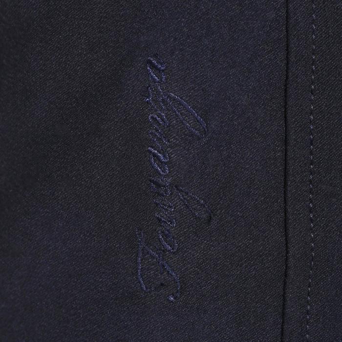 Pantalon équitation femme BR500 basanes marine - 172511