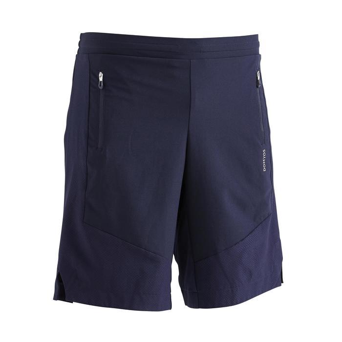 Shorts FST 500 Fitness Cardio Herren marineblau