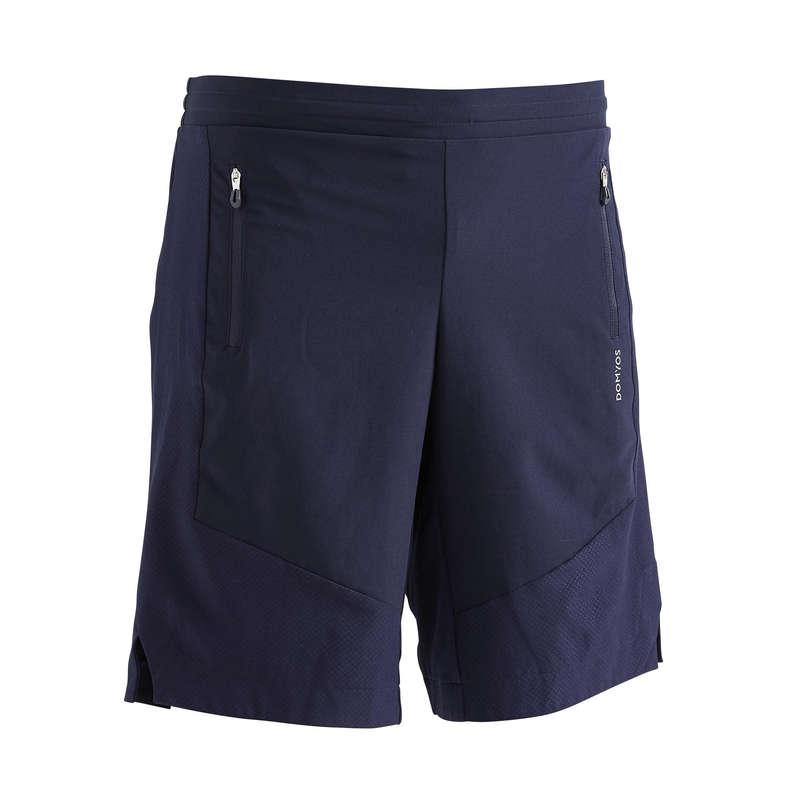 Fitnesz Cardio Férfi ruházat és cipő középhaladó Fitnesz, jóga - Férfi rövidnadrág 500-as DOMYOS - Férfi kardió ruházat, cipő