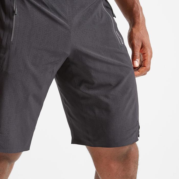 Sporthose kurz FST 900 Fitness Cardio Herren schwarz