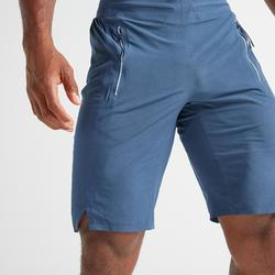 Short cardio fitness training homme FST 900 bleu