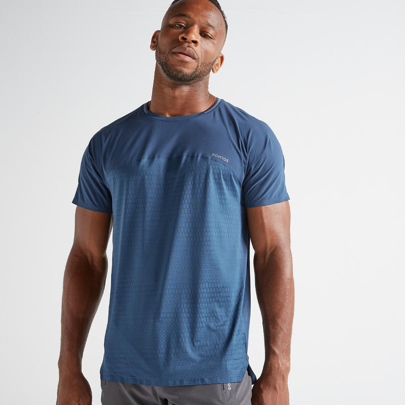 FTS 920 Fitness Cardio Training T-Shirt - Blue