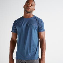 Camiseta fitness cardio-training hombre FTS 920 azul