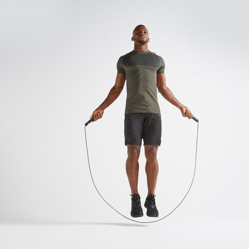 FTS 900 Cardio Fitness Seamless T-Shirt - Khaki