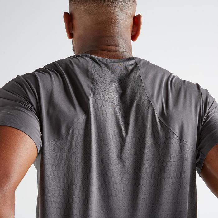 Tee shirt cardio fitness training homme FTS 920 gris