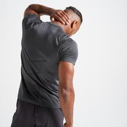 FTS 900 Fitness Cardio Training Seamless T-Shirt - Dark Grey