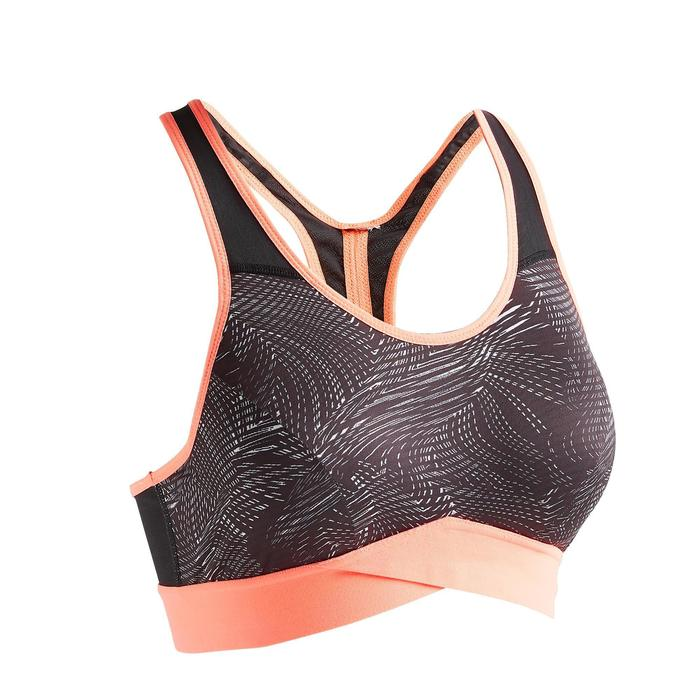 Sport-BH FBRA 500 Fitness Cardio Damen Print