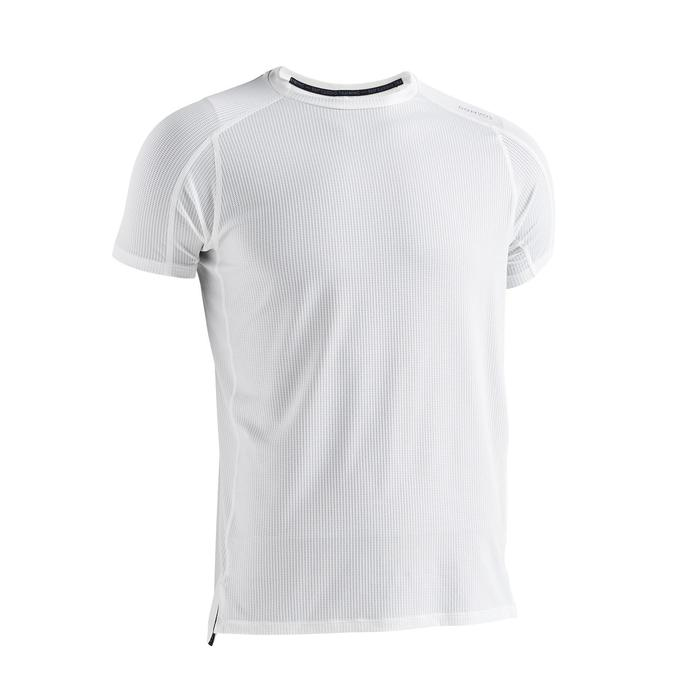 T-shirt cardio fitness training FTS520 homme blanc