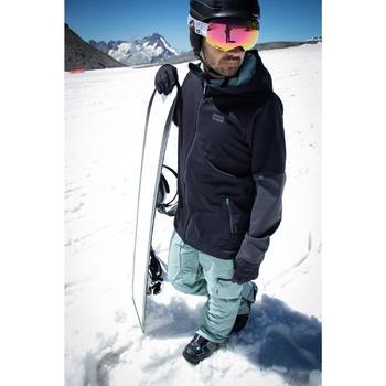 Sudadera de Snowboard y Esquí, Wed'ze SNB HDY, Impermeable, Hombre, Negro