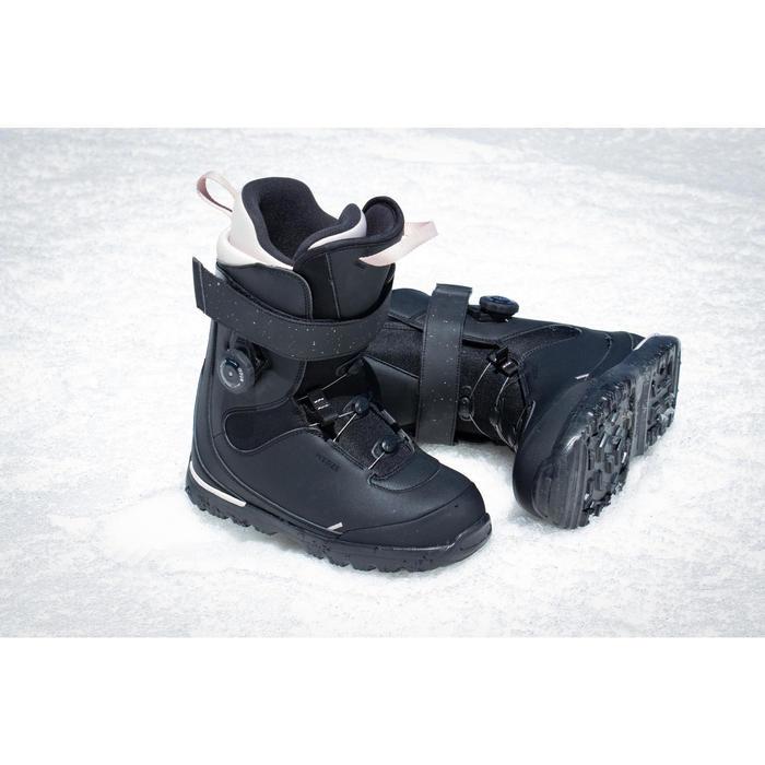Snowboard Boots Piste / Off-Piste Serenity 500 Damen schwarz