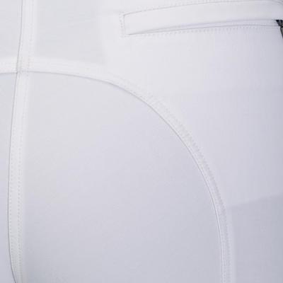 Breeches Concurso equitación mujer BR500 blanco