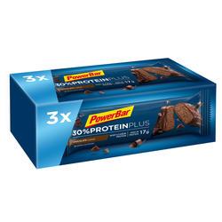 Barra proteínas PROTEIN PLUS chocolate 3x55g