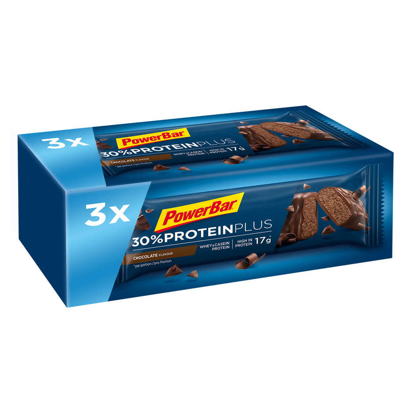 BARS, GELS & AFTER Boxing - Protein Bar Chocolate 3x55g POWERBAR - Boxing Nutrition