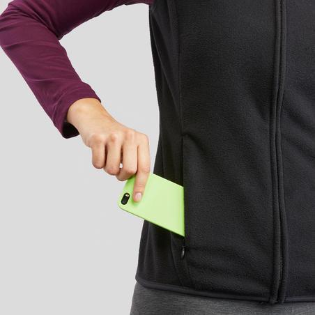 Women's Hiking Fleece Gilet - MH120