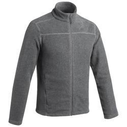 Fleece vest heren MH120 gemêleerd grijs