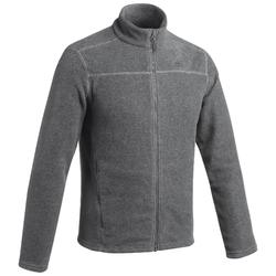 Men's Mountain Walking Fleece Jacket MH120 - Mottled grey