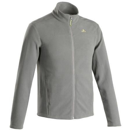 Men's Mountain Hiking Fleece Jacket MH120 - Khaki