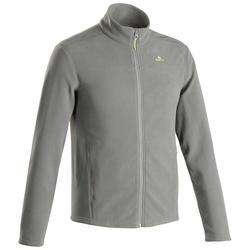 Men's Mountain Walking Fleece Jacket MH120 - Khaki