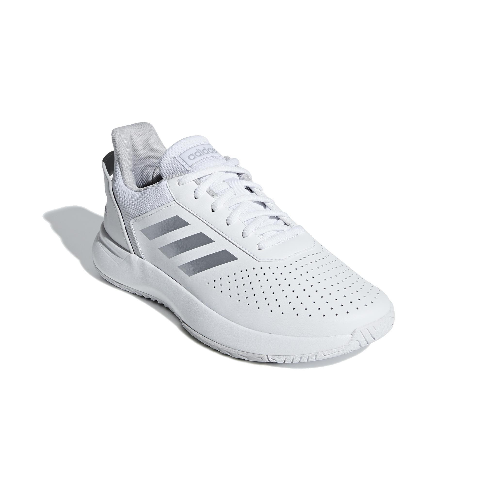 Tennisschuhe Adidas Court Smash Damen weiß | Schuhe > Sportschuhe > Tennisschuhe | Adidas