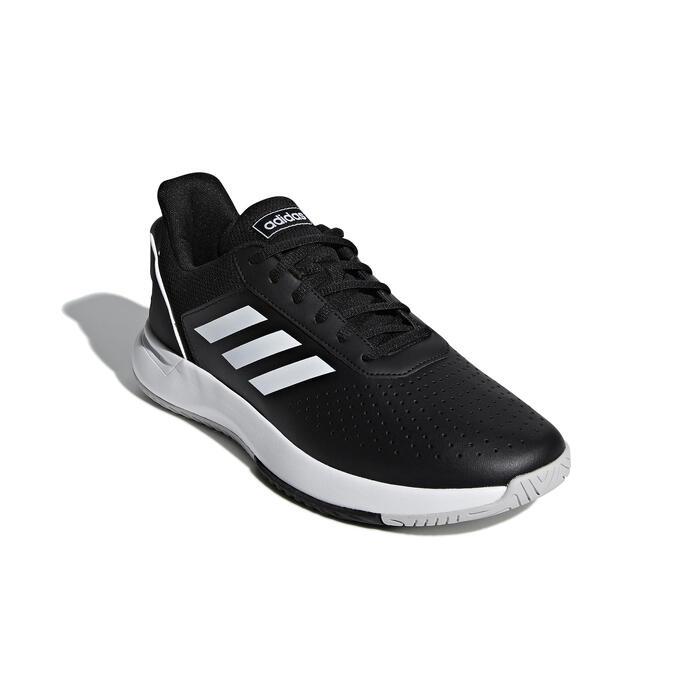Tennisschoenen voor heren Courtsmash zwart