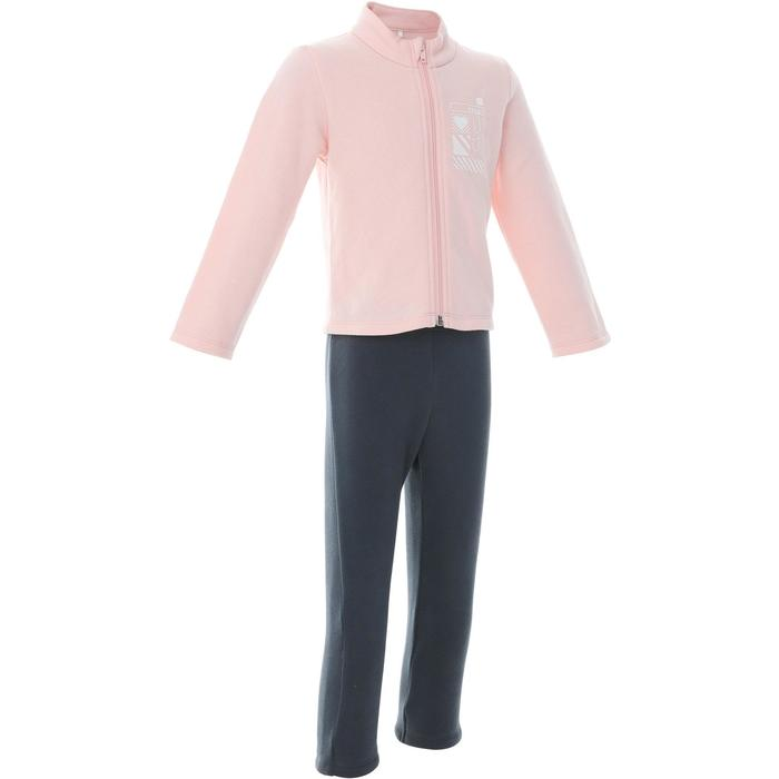 Baby Gym Tracksuit Warmy Zip 100 - Pink