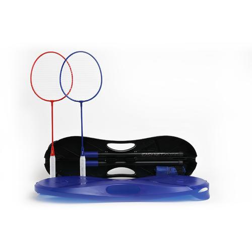 Lot Badminton Easy Set 3 m - Bleu