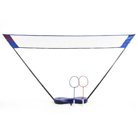 3M Badminton Net With Rackets Easy Set Blue - Perfly