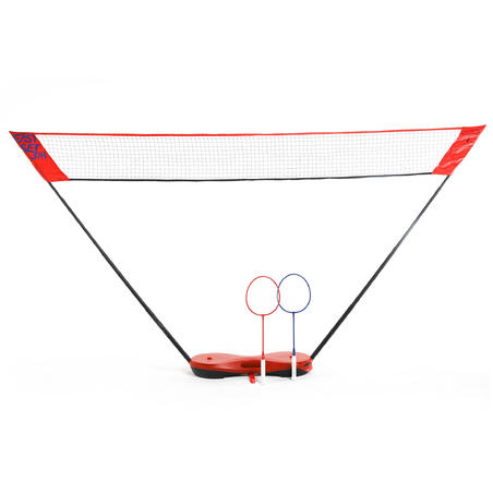 Easy Set Badminton 3 m - Rouge