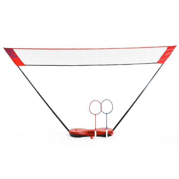 Badmintonset Easy Set 3 M rood