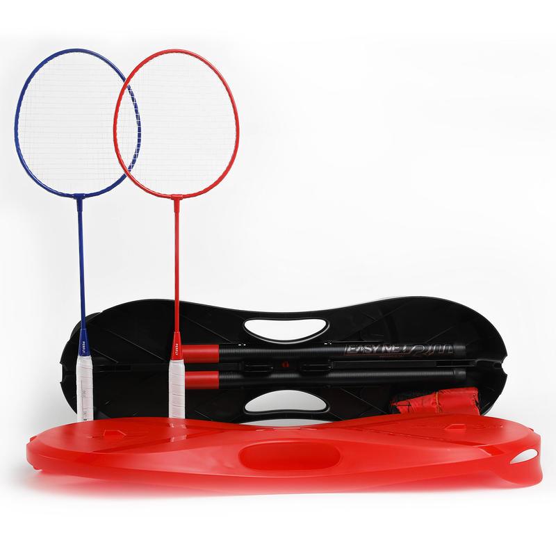 ชุดอุปกรณ์เล่นแบดมินตันรุ่น EASY SET 3 ม. สีแดง