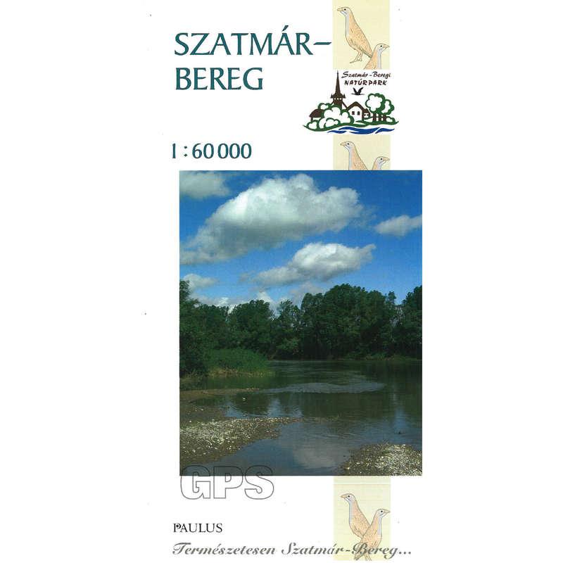 térképek Túrázás - Szatmár-Bereg naturpark térkép CARTOGRAPHIA - Túra felszerelés