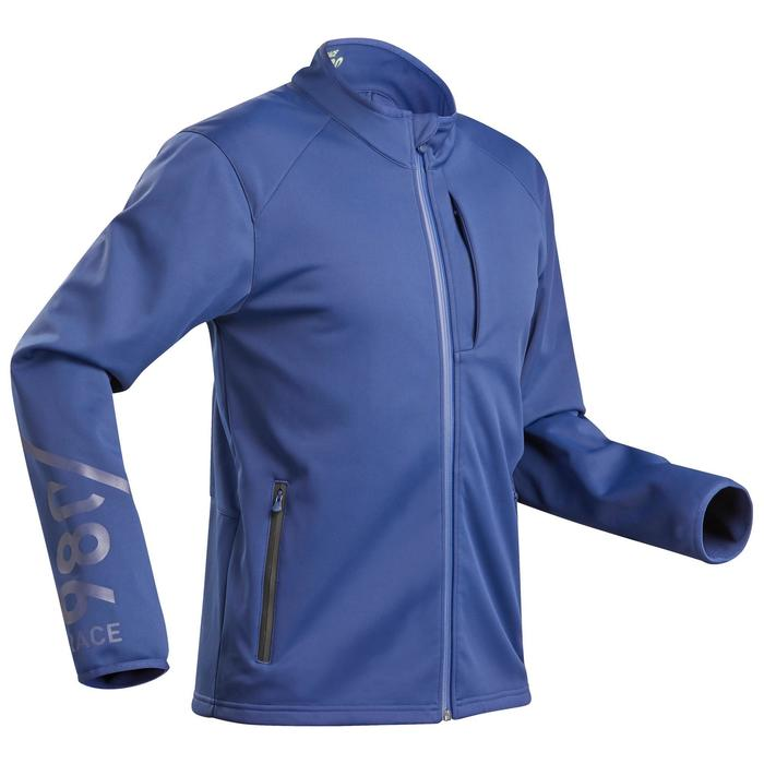 Ski-jas voor wedstrijdskiën dames 980 blauw