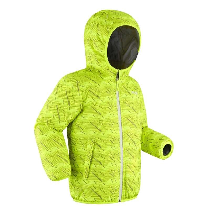 KID BEGINNER ON PISTE SKIING CLOTHS Clothing - KIDS' D-SKI JACKET W RVS 100  WEDZE - Coats and Jackets