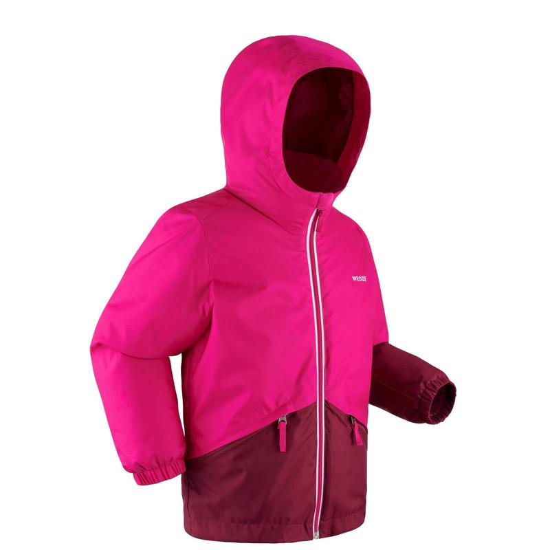 Kids' Ski Jacket 100 - Pink