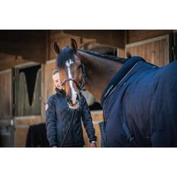 Staldeken ruitersport paard en pony Stable 400 marineblauw