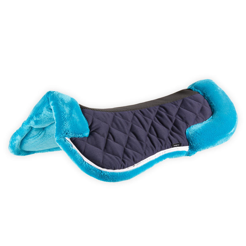 Lena Saddle Pad 500 for Horse and Pony - Teal