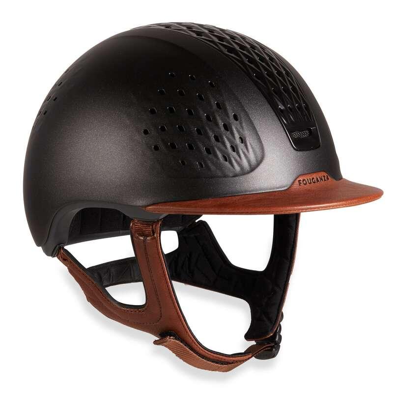 RIDER HELMETS - 900 Riding Helmet + Bag FOUGANZA