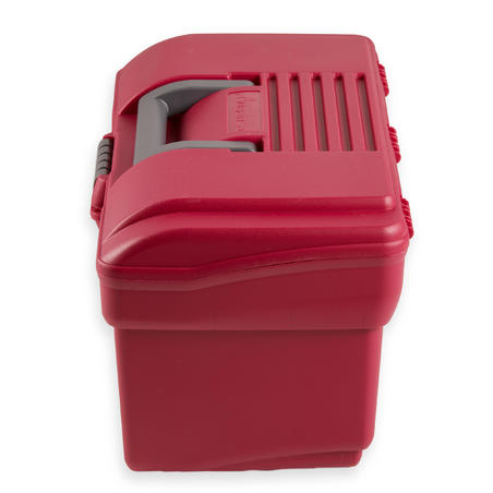Horse Riding Grooming Case 300 - Raspberry / Grey