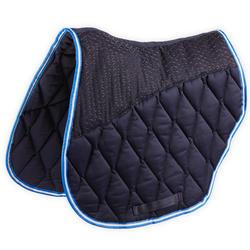 Zadeldek ruitersport 500 Jump marineblauw pony/paard