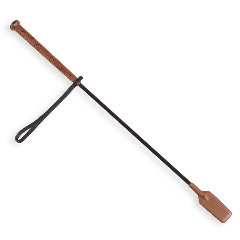 Horse Riding Crop 500 58 cm - Brown