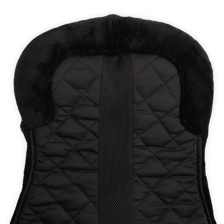 Lena Saddle Pad 500 for Horse and Pony - Black