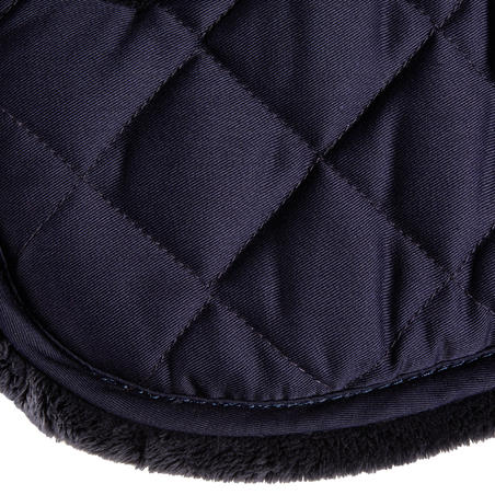 Lena Saddle Pad 100 for Horse and Pony - Navy